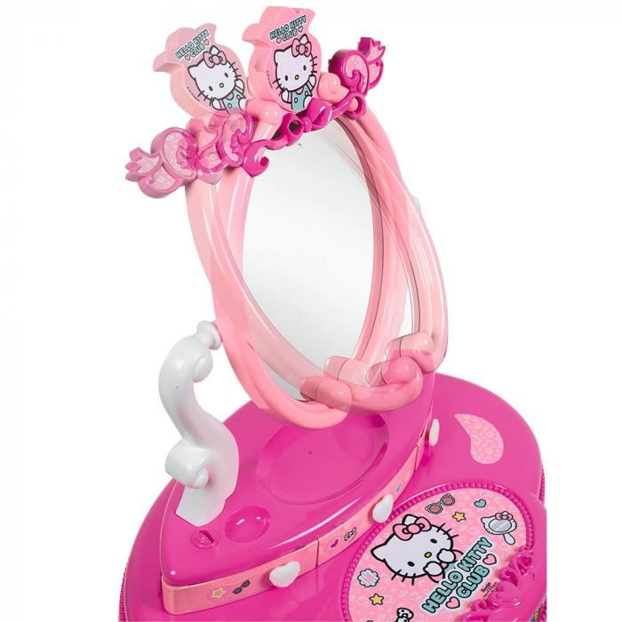 Jucarie Smoby Masuta de machiaj Hello Kitty Hairdresser 2 in 1 [3]