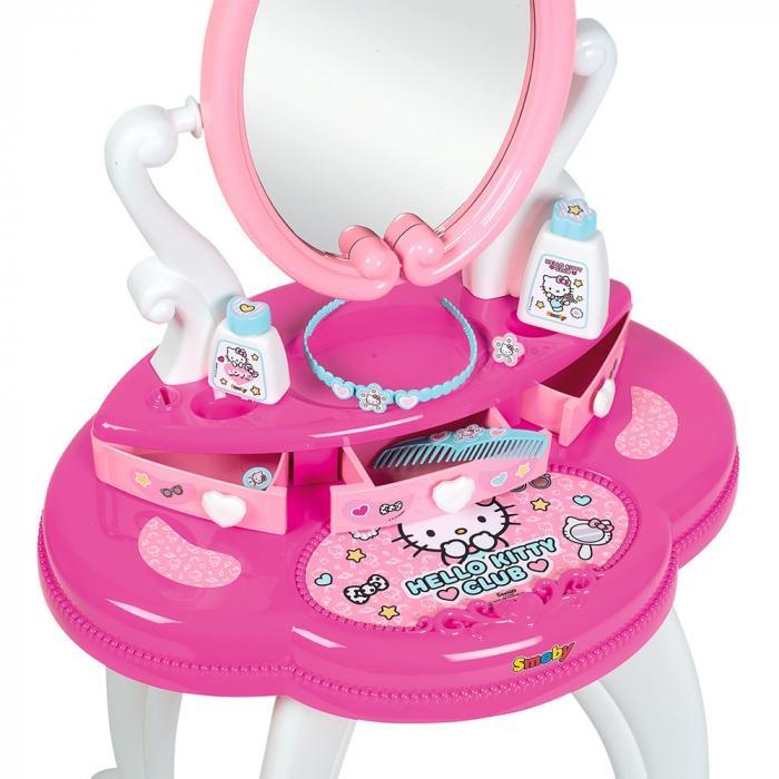 Jucarie Smoby Masuta de machiaj Hello Kitty Hairdresser 2 in 1 [4]