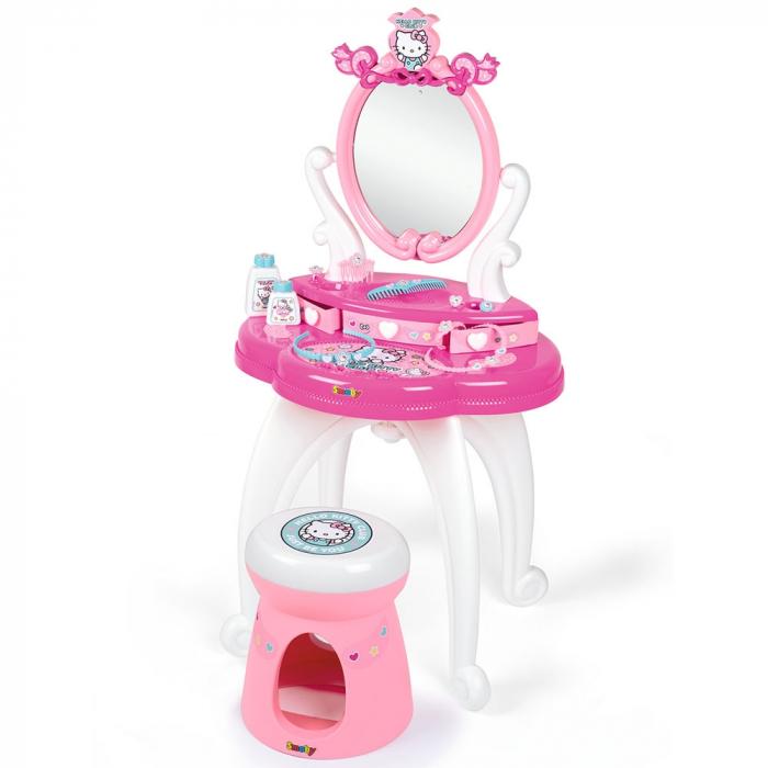 Jucarie Smoby Masuta de machiaj Hello Kitty Hairdresser 2 in 1 [0]