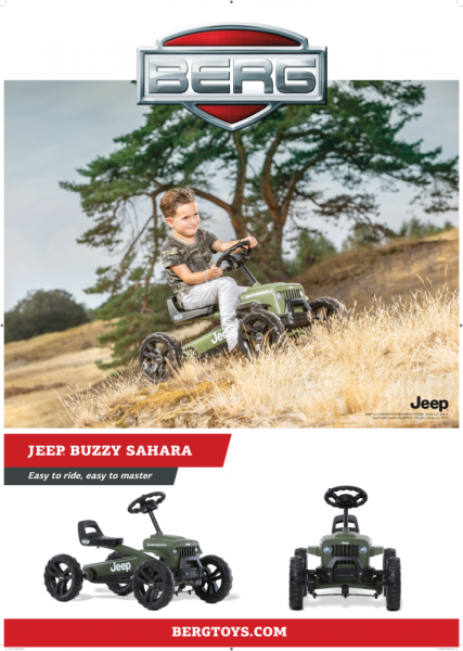 Kart Berg Jeep Buzzy Sahara 2