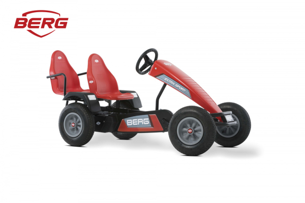 Kart cu pedale BERG Extra Sport BFR - red 5