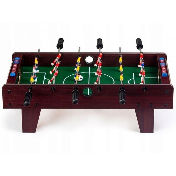 Masa de fotbal din lemn Ecotoys 69 x 36 x 22 cm [5]