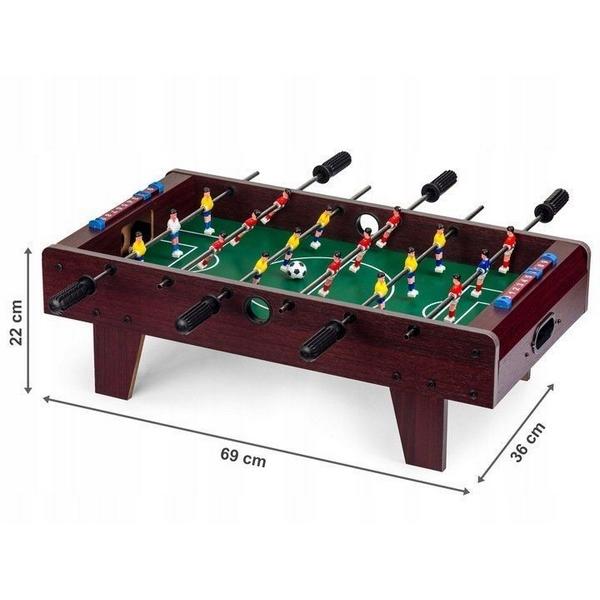 Masa de fotbal din lemn Ecotoys 69 x 36 x 22 cm [1]