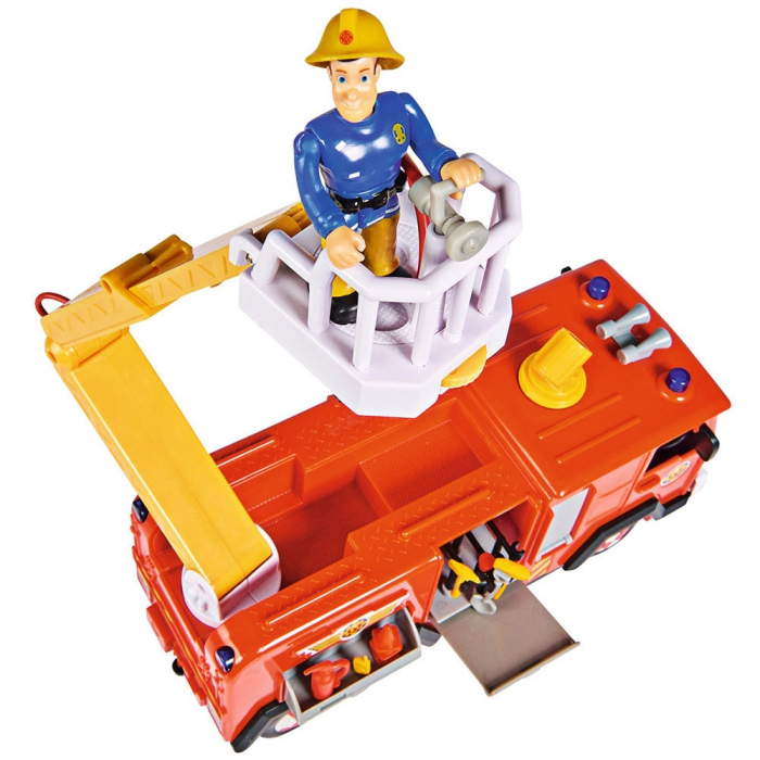 Masina de pompieri Simba Fireman Sam Mega Deluxe Jupiter cu 2 figurine si accesorii [2]
