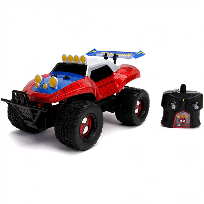 Masina Jada Toys Marvel Spider Man Buggy 1:14 cu telecomanda [0]
