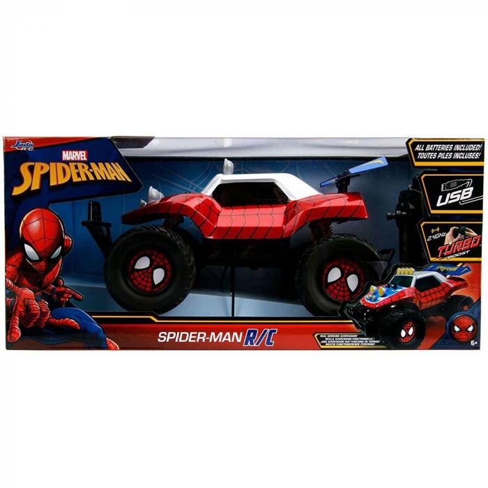 Masina Jada Toys Marvel Spider Man Buggy 1:14 cu telecomanda [3]