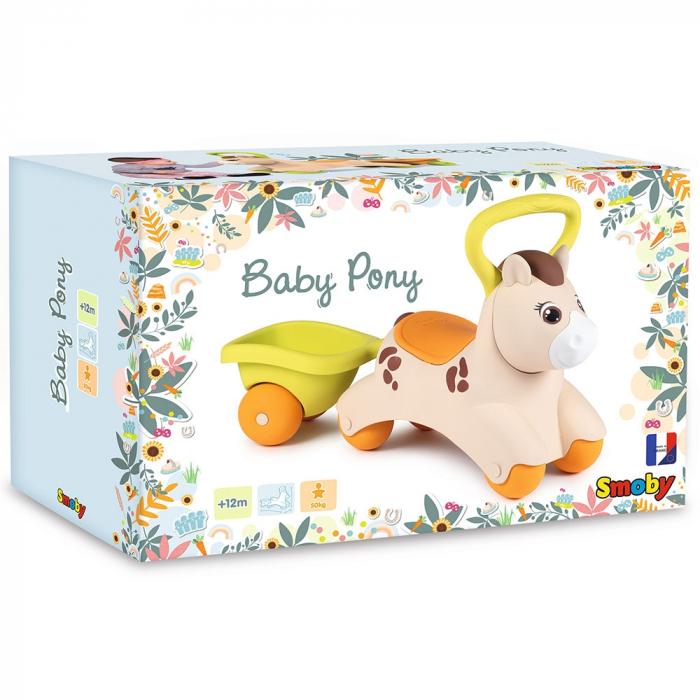 Masinuta de impins Smoby Baby Pony [9]