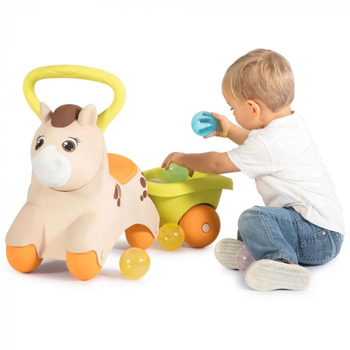 Masinuta de impins Smoby Baby Pony [4]