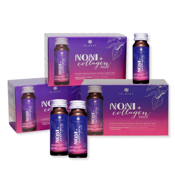Noni + Collagen lichid 10.000 mg/50 ml Morinda NewAge - 10 sticlute x 50 ml 3