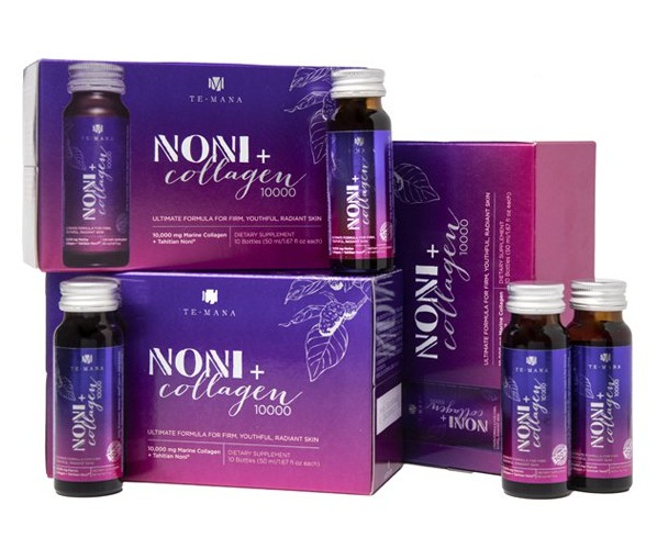 Noni + Collagen lichid 10.000 mg/50 ml Morinda NewAge - 30 sticlute x 50 ml 0