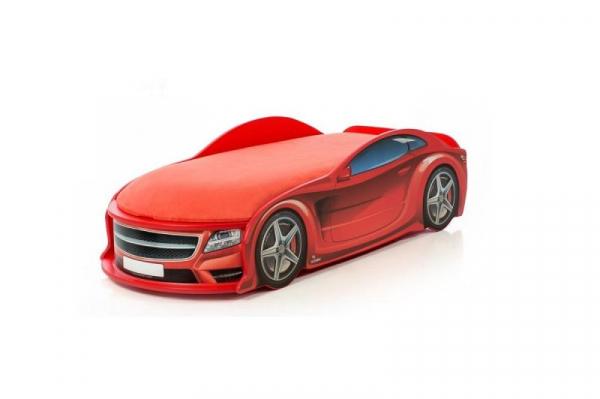 Pat masina tineret MyKids UNO Mercedes Rosu 0