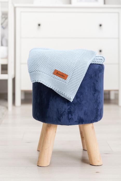 Paturica de bumbac tricotata Sensillo 100x80 cm [6]