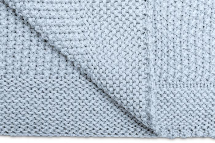Paturica de bumbac tricotata Sensillo 100x80 cm [4]
