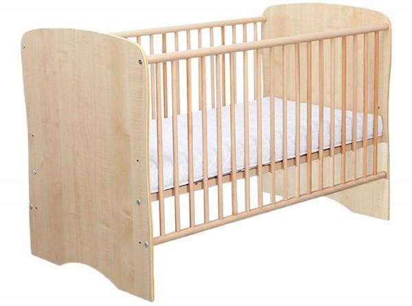 Patut copii lemn Serena Natur Bebe Design 0