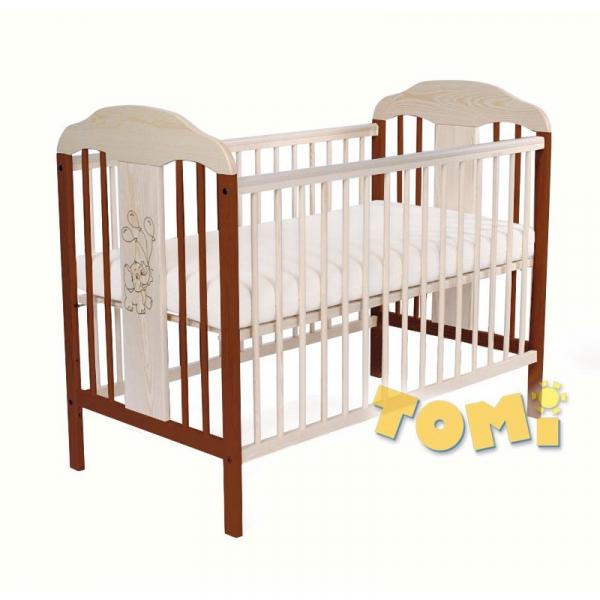 Patut din lemn pentru copii Tomi XIV color 1