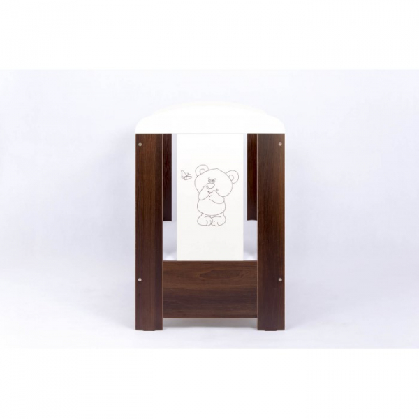 Patut Drewex Bear Culisant - Wenge + Saltea Cocos 10 Cm 2