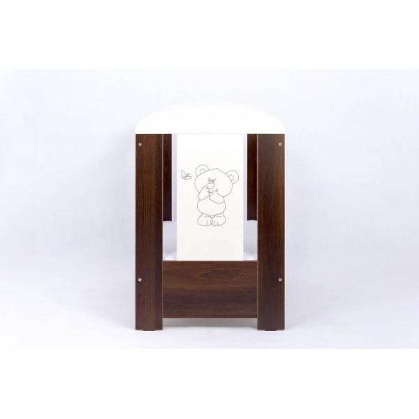 Patut Drewex Bear Culisant - Wenge + Saltea Cocos 12 Cm 2