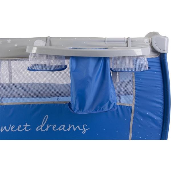 Patut pliabil cu 2 nivele si accesorii Sun Baby - Sweet Dreams 9