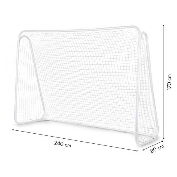 Poarta cu net pentru antrenament fotbal ECOTOYS, 240x170 cm 2