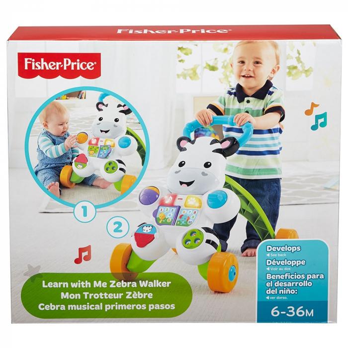 Premergator Fisher Price by Mattel Infant Zebra [4]