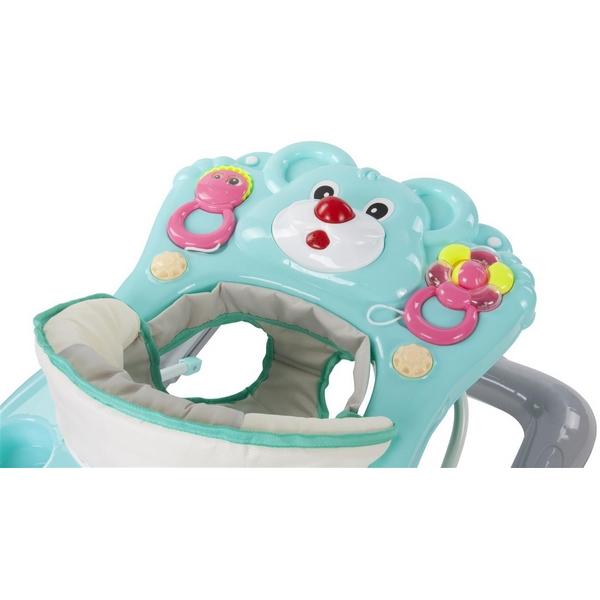 Premergator Sun Baby Ursulet 010 cu functie de balansoar - Turquoise 4