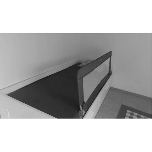 Protectie pat rabatabila pentru somiera adancita 150 cm alb - Olmitos [1]