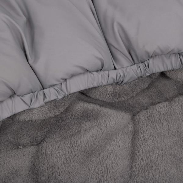 Sac pentru carucior transformabil 120 cm Kettu Maxi grey [4]