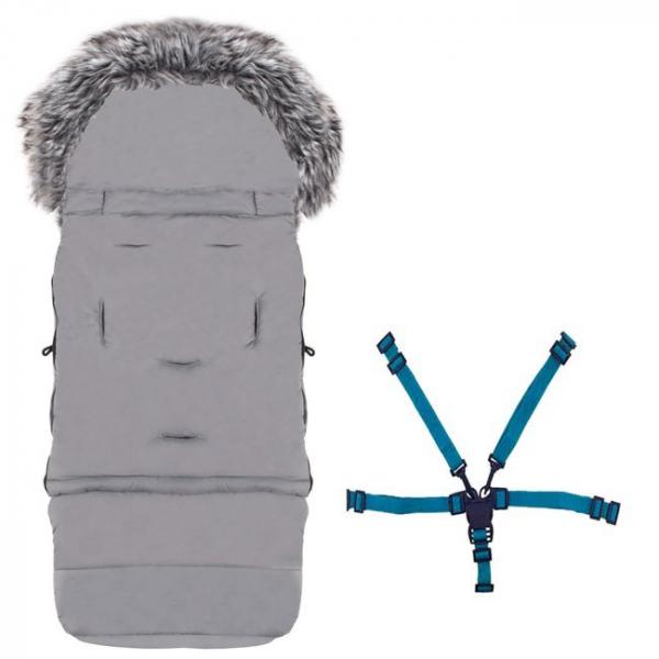 Sac pentru carucior transformabil 120 cm Kettu Maxi grey [7]