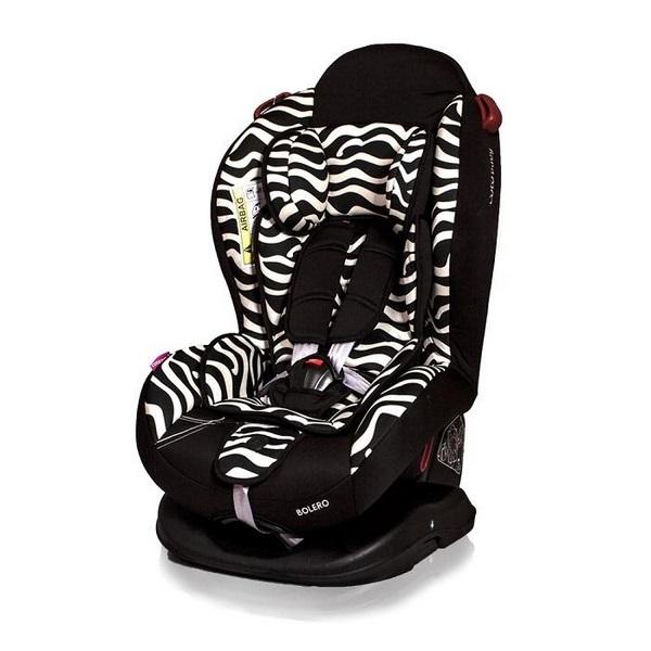 Scaun auto Coto Baby Bolero Zebra 0-25 Kg [0]