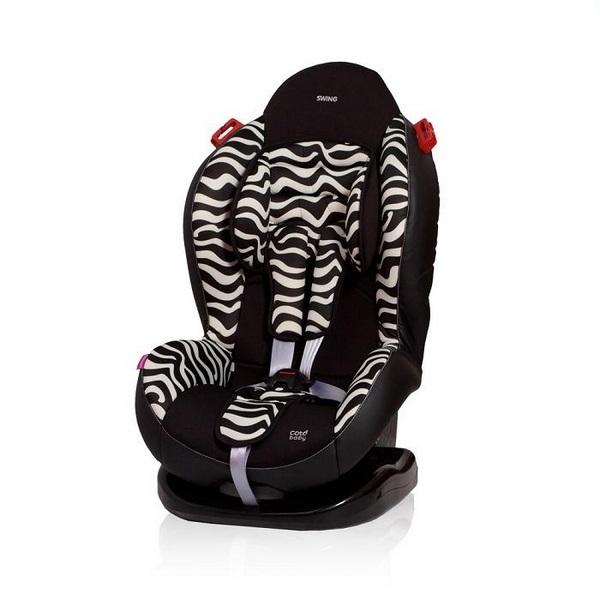 Scaun auto Coto Baby Swing 9-25 Kg Zebra [0]