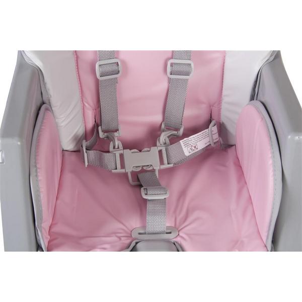 Scaun de masa Sun Baby 002 Comfort Basic - Pink 8