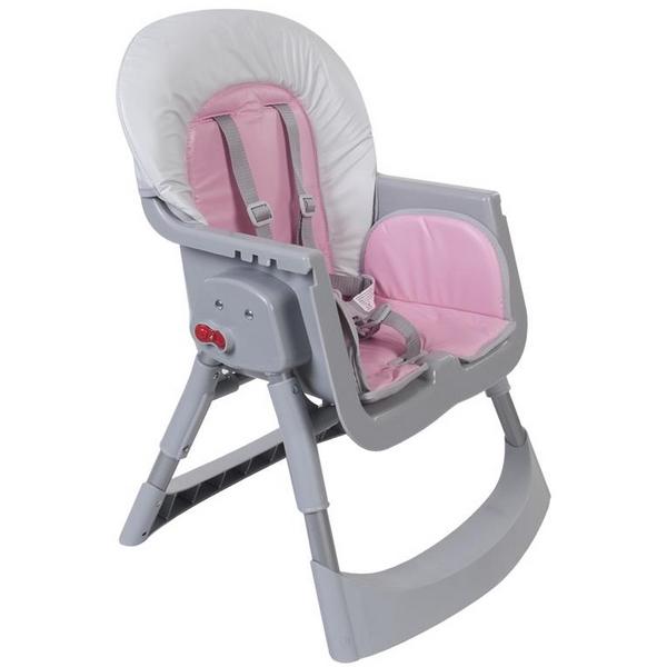Scaun de masa Sun Baby 002 Comfort Basic - Pink 5
