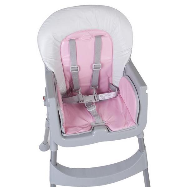 Scaun de masa Sun Baby 002 Comfort Basic - Pink 9