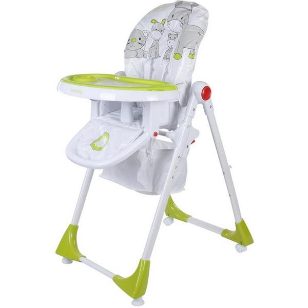 Scaun de masa Sun Baby 004 Comfort Lux - Green 0