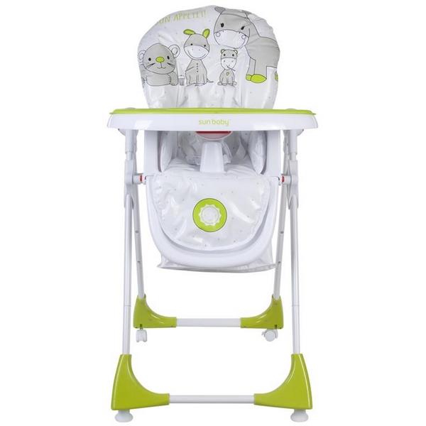 Scaun de masa Sun Baby 004 Comfort Lux - Green 1