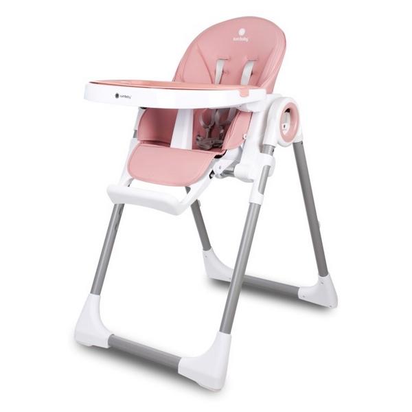 Scaun de masa Sun Baby 012 Fidi Pink 0