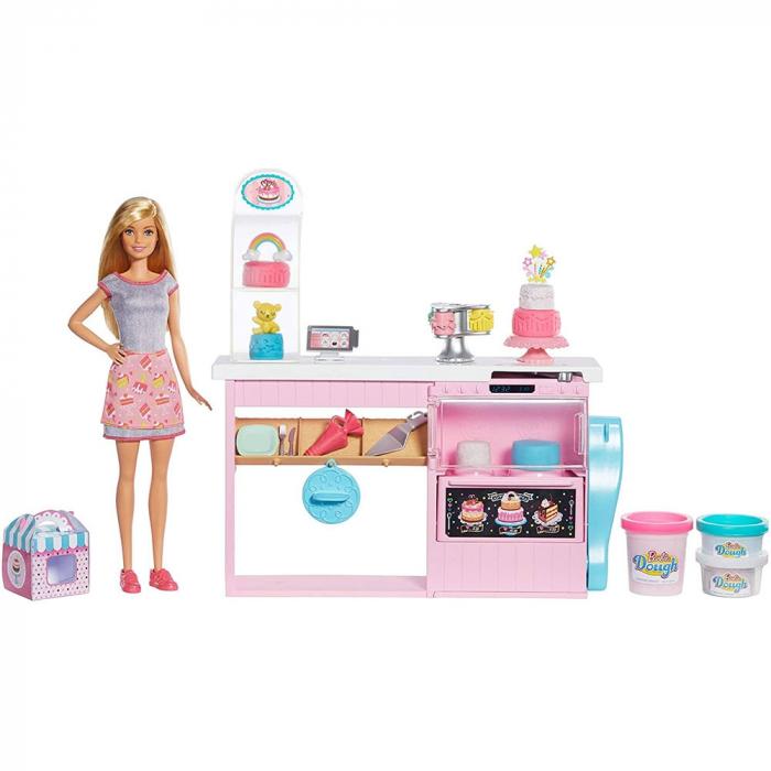 Set Barbie by Mattel I can be Papusa cu cofetarie GFP59 [0]