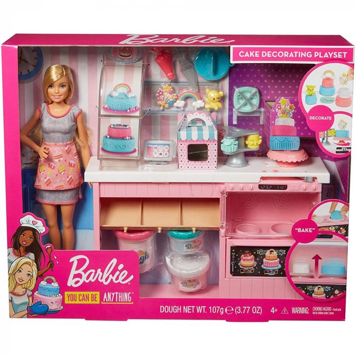 Set Barbie by Mattel I can be Papusa cu cofetarie GFP59 [6]