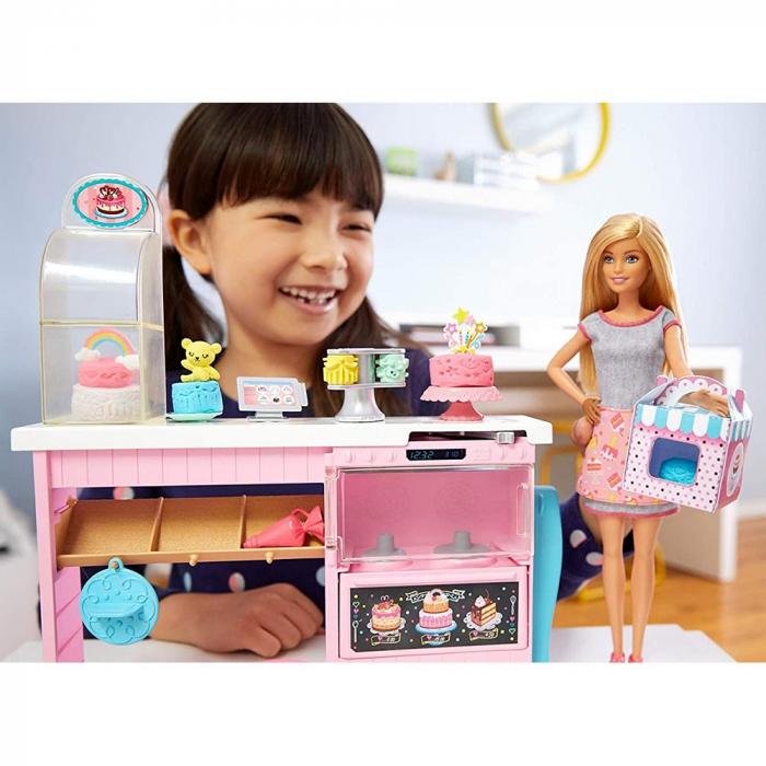 Set Barbie by Mattel I can be Papusa cu cofetarie GFP59 [5]