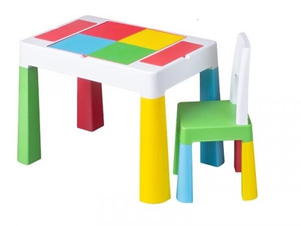 Set masuta cu scaun Tega Lego Multifun Multicolor 0