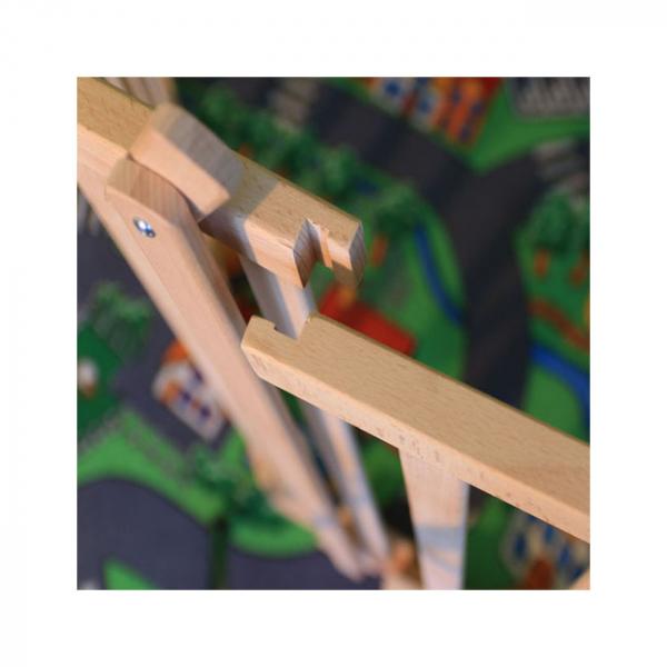 Tarc copii pliabil din lemn - Mesterel 1
