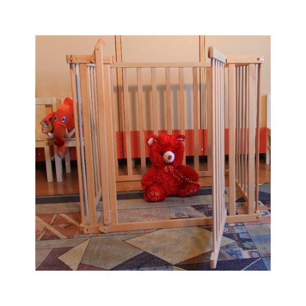 Tarc copii pliabil din lemn - Mesterel 6