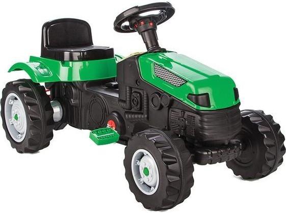 Tractor cu pedale Pilsan ACTIVE Verde [0]