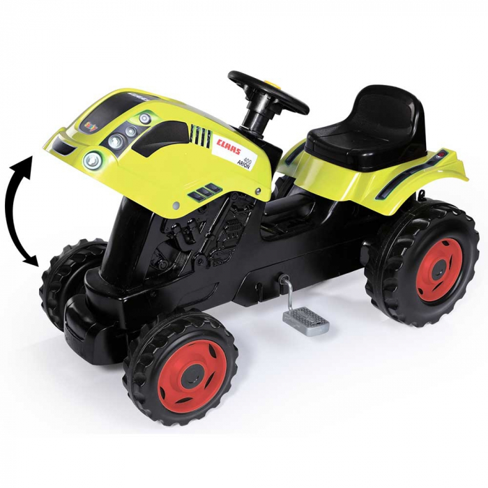 Tractor cu pedale si remorca Smoby Claas Farmer XL [4]