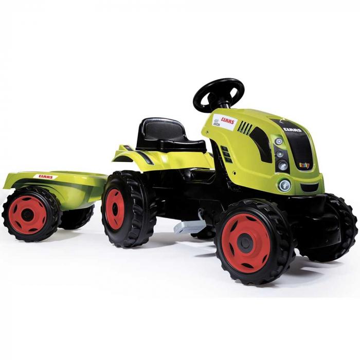 Tractor cu pedale si remorca Smoby Claas Farmer XL [0]