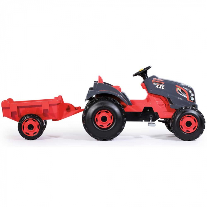 Tractor cu pedale si remorca Smoby Stronger XXL [1]
