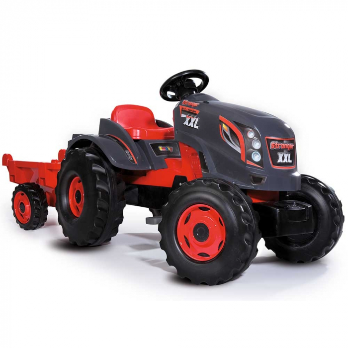 Tractor cu pedale si remorca Smoby Stronger XXL [0]