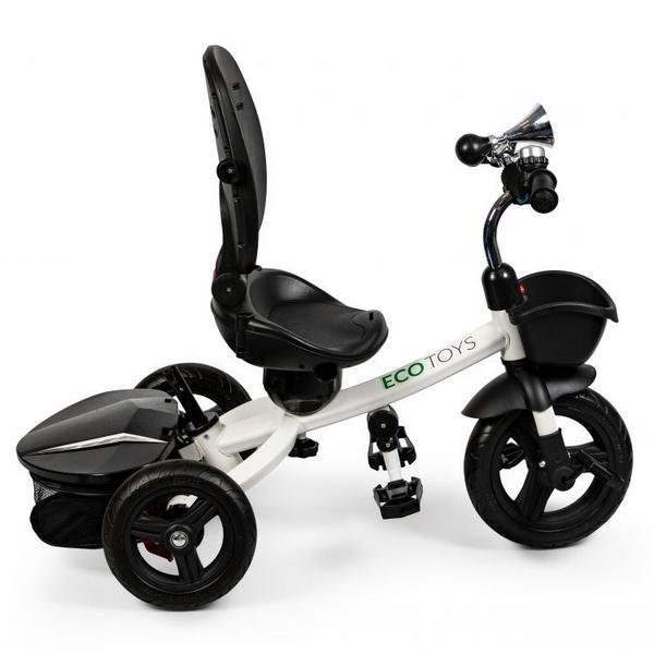 Tricicleta cu sezut reversibil Ecotoys JM-311 - Gri 6
