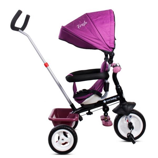 Tricicleta cu sezut reversibil Sun Baby 017 Fresh 360 4