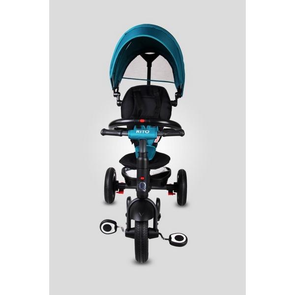 Tricicleta pliabila cu roti gonflabile Sun Baby 014 Qplay Rito 4
